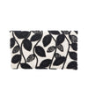 Brown Serrate Leaf Clutch - clutch-it-india