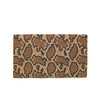 Gold Python Print Clutch - clutch-it-india