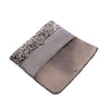 Black and Silver Elle Clutch - clutch-it-india