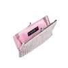 Pink Diamond Striped Frame Clutch - clutch-it-india