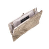 Silver Oressa Clutch - clutch-it-india