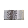 Black and Silver Motley Clutch - clutch-it-india