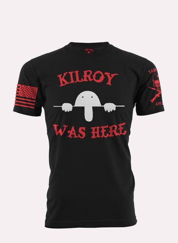 Kilroy Was Here Tee Shirt Task Force Apparel