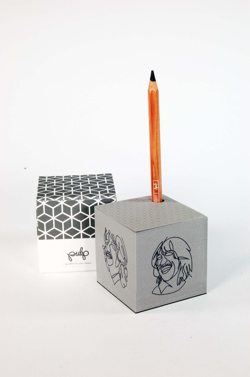 Black Paper Notebook - Small and Big - 3 Different PULP designs - NO.1