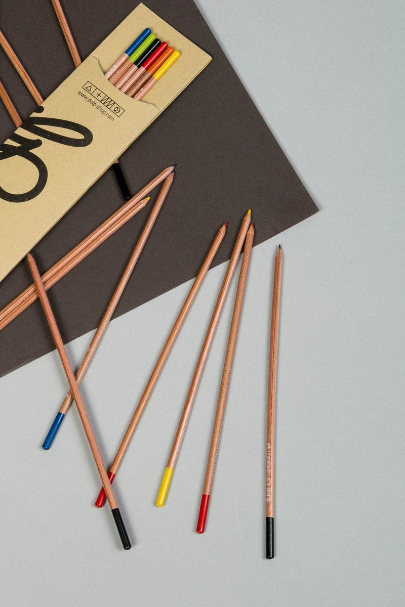 Mini Paper Cube Illustrated Zebra by Pulp & Sagi Ashin