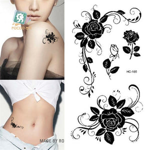 "Temporary Sexy Body Art Tattoos for All Ages, Waterproof, Various Designs & Colors 6x10.5cm/2.3""x4"""