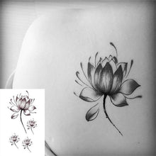 "Load image into Gallery viewer, Temporary Sexy Body Art Tattoos for All Ages, Waterproof, Various Designs & Colors 6x10.5cm/2.3""x4"""