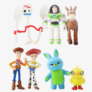 """Toy Story 4"", Action Figure Model Toy, Scale 1/60, 7pcs/lot"