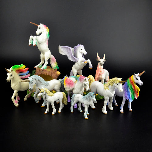 Original Genuine Fairy-tale Mythical Horse,  Educational Figurine, First Edition, Scale 1/48