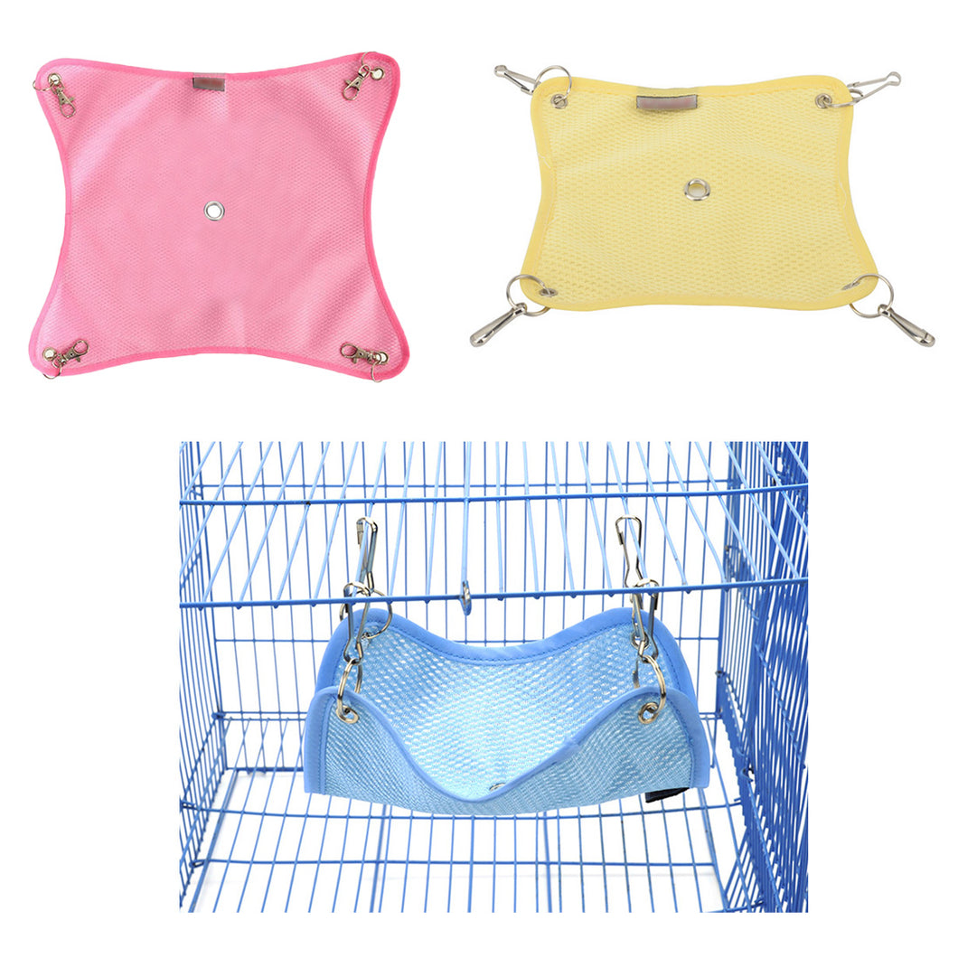 Hamsters Supplies 3Sizes Hammock Pet Hamster Rat Parrot Ferret Hamster Hanging Bed Cushion hamster House Cage accessories