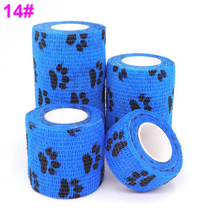 1 pcs Colorful Printed Medical Self Adhesive Elastic Bandage, 4.5m, 1.75""