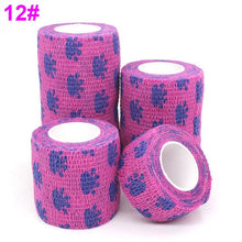 Load image into Gallery viewer, 1 pcs Colorful Printed Medical Self Adhesive Elastic Bandage, 4.5m, 1.75""