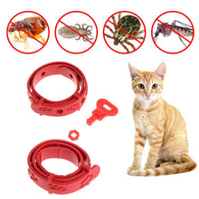 Load image into Gallery viewer, Adjustable Anti-Flea, Mite, Tick Collar, B;ack or White, 1pc