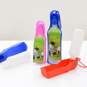Water Foldable Dispenser, Plastic,  4 Colors, 250ml or 500ml