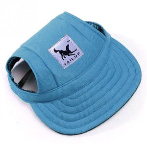 Fashion Hat Summer Baseball Cap/Visor Cap with Ear Holes, 8 Colors, Various Designs, 1pc