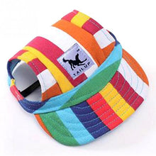 Load image into Gallery viewer, Fashion Hat Summer Baseball Cap/Visor Cap with Ear Holes, 8 Colors, Various Designs, 1pc