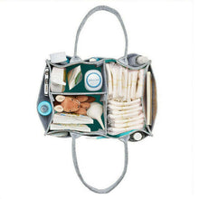 Load image into Gallery viewer, Portable Caddy Organizer Holder Bag, Multi-Purpose, Light Grey, Polyester