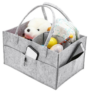 Portable Caddy Organizer Holder Bag, Multi-Purpose, Light Grey, Polyester