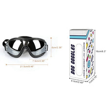 Load image into Gallery viewer, Fashion Protective Eye Sunglasses/Goggles. Windproof, Medium/Large, Black, 1pc