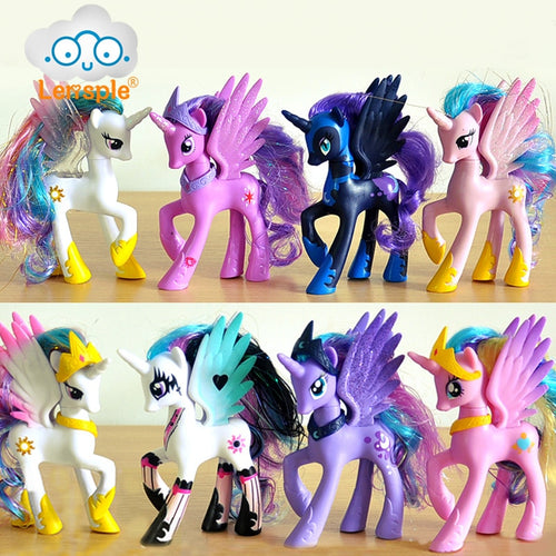 Rainbow Horse Action Figure,, 14cm, 5.5