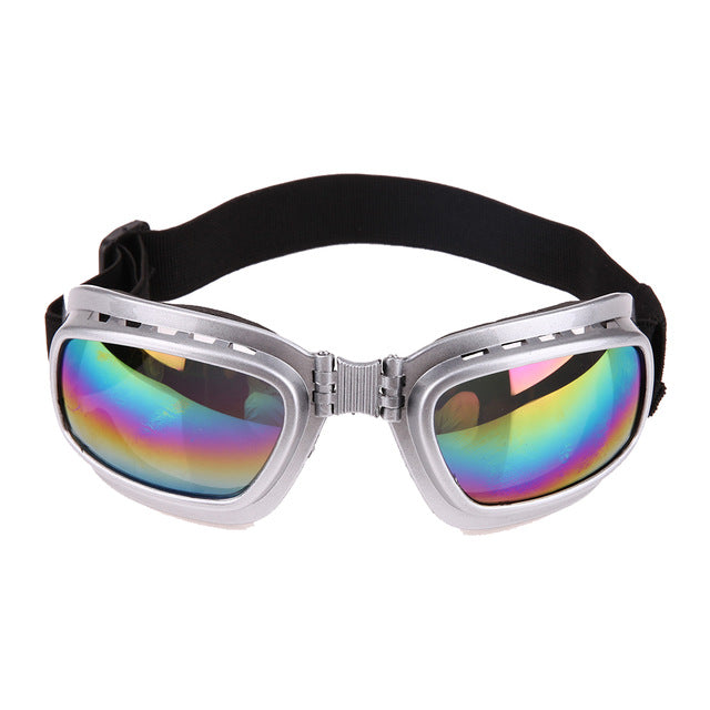 Pet Goggles Protection Eye Wear Goggles, Sun-resistant Windproof, Anti-Breaking,Various Colors, 1pc