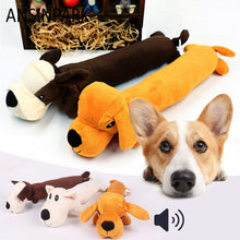 Load image into Gallery viewer, Animal Chew Toy, Squeak Toys in Cloth Doll, 5 Characters & Colors,1pc