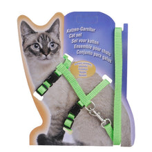 Load image into Gallery viewer, Nylon Cat Harness & Leash Set, Breakaway, Adjustable Traction & Fit, 5 Colors