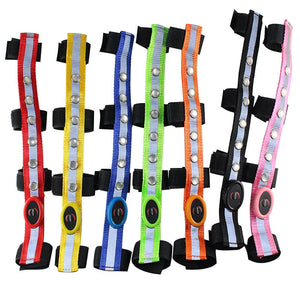 "LED Harness Colorful Lighting Luminous Tubes Straps, 2.5CM x 34cm, 1"" x 1.3"""