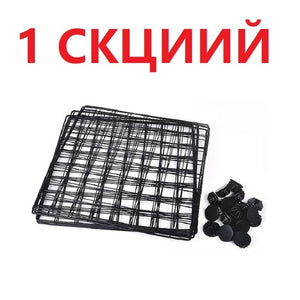 Small Animal Pet Fence, Temporary Confinement, Multi-Positions, Black, 1pc