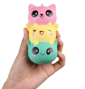 Jumbo Squishy, Slow Rising, Anti-Stress Stress Relief Toy, Various Characters 1pc