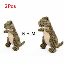 Load image into Gallery viewer, Cute Animal Designs Pet Squeaker Sound Plush Toy For Dogs, S & M, 2pcs, 2 Colors