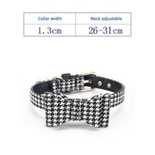 Load image into Gallery viewer, Adjustable Pet Collar With Bell, Quick Release, Various Design & Colors, 1pc