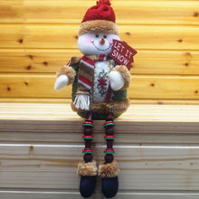 Load image into Gallery viewer, Christmas Flannel Doll: Santa, Snowman, Deer