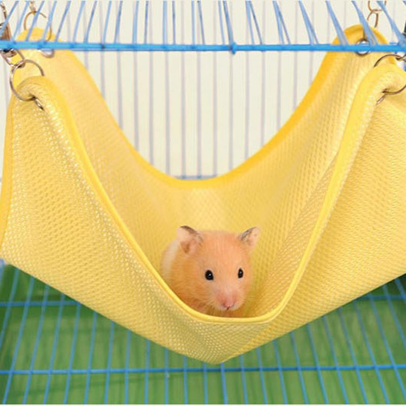 Small Animal Hammock, Breathable Mesh, Cotton, Various Colors, M/L