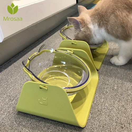 15-Degree Adjustable Pet Feeder & Water Bowl, Various Colors