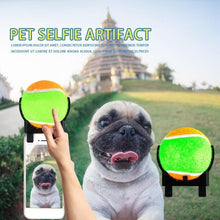 Load image into Gallery viewer, Interesting Tennis Ball Holder for Camera Pet Selfie Photos, Green