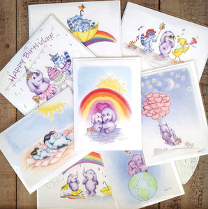 Greeting Card Multi Pack of 8