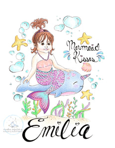 Mermaid Kisses ~ Emilia
