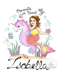 Mermaid at Heart ~ Isobella