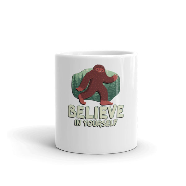 Bigfoot - Believe in yourself Mug - Three Buddies Healthy Dog Treats