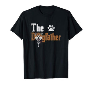 Mens The Dogfather Tshirt - Three Buddies Healthy Dog Treats