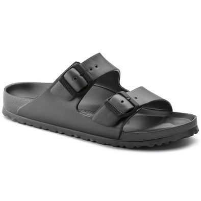 Birkenstock Arizona EVA Metallic Anthracite Sandals
