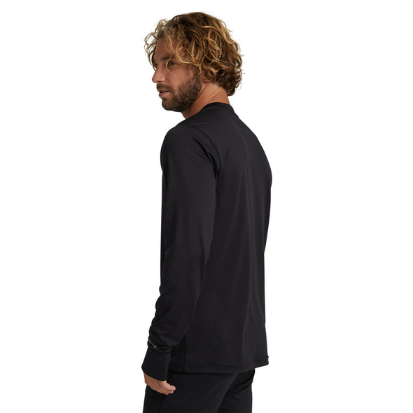 Burton Midweight Base Layer Crew True Black 2021