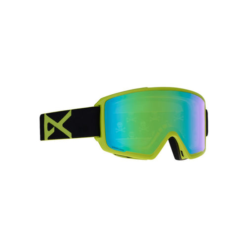 Anon M3 Black Green Goggles 2019