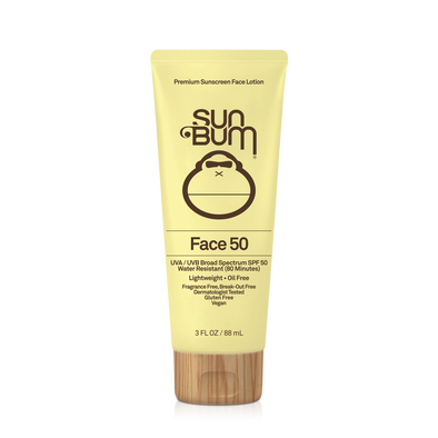 Sun Bum Original Sunscreen Face Lotion SPF 50+
