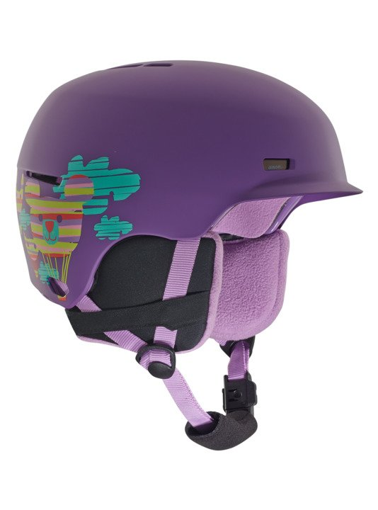 Anon Flash Baloonz Purple Youth Helmet 2019