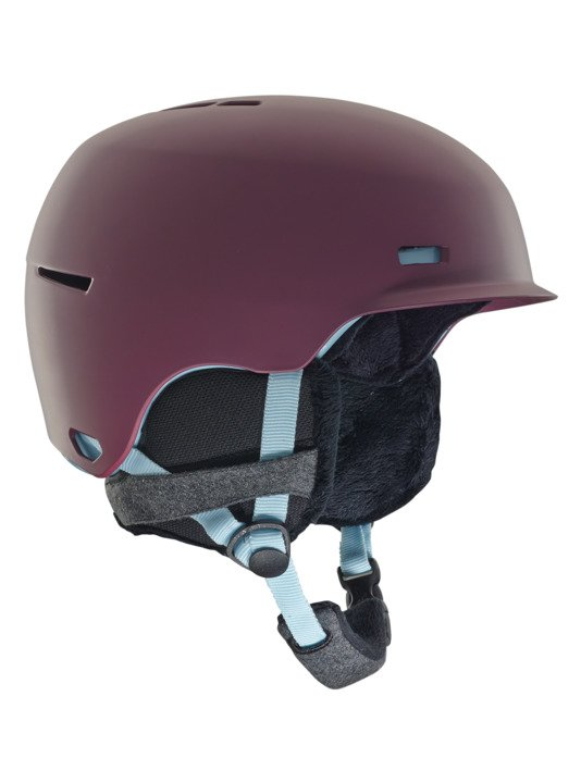 Anon Raven Purple Helmet 2019