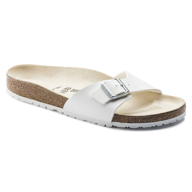 Birkenstock Madrid White Birko-Flor Sandals