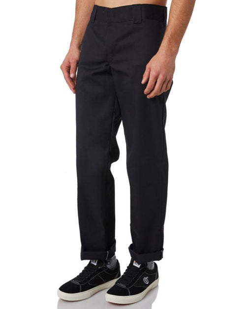 Dickies 873 Youth Slim Straight Black Work Pants