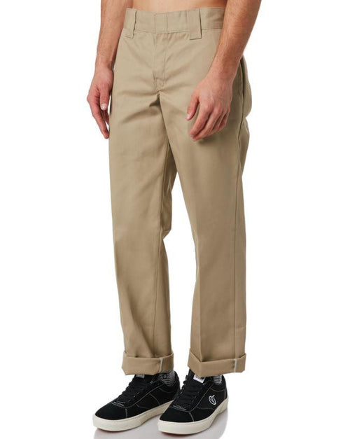 Dickies 873 Youth Slim Straight Khaki Work Pants